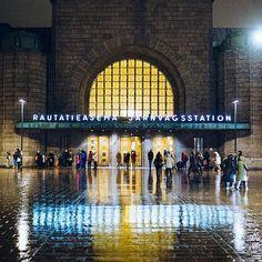 Rainy day in Helsinki