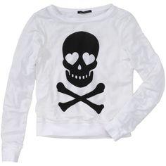 Wildfox Sweatshirt (180 AUD) ❤ liked on Polyvore featuring tops, hoodies, sweatshirts, shirts, sweaters, blusas, print shirts, print top, wildfox and patterned sweatshirt