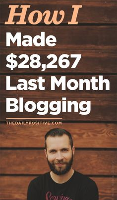 How I Made $28,267 Last Month Blogging | This blog post is great inspiration for bloggers who want to earn money from their blog.