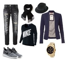 """""""Untitled #3"""" by belmin13 ❤ liked on Polyvore featuring Philipp Plein, Michael Kors, Lacoste, Tommy Hilfiger and NIKE"""