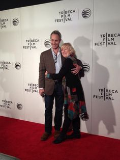 Jayne Atkinson and Michael Gill on the #NOWTheFilm red carpet #TFF2014