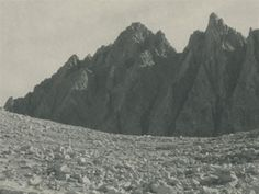 Bishop Pass, the Inconsolable Range by Ansel Adams 1930