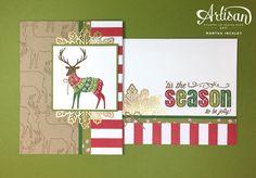Stampin' Up! Artisan Design Team Blog Hop: Merry Patterns