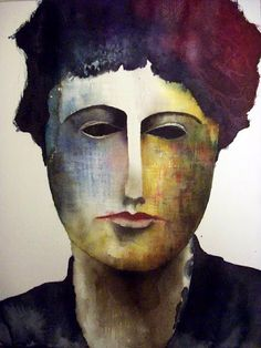 DIANE ARBUS - watercolor 30x42 cm  Stefano Arici  stefanoarici.blogspot.it