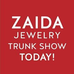 Today is the day, don't miss it!!!! The ZAIDA Jewelry & Nirvana Holiday Trunk Show 4-7pm @flygirldanceandfitness Chicago, we are waiting for you!!