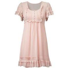 Ruffle Tea Dress