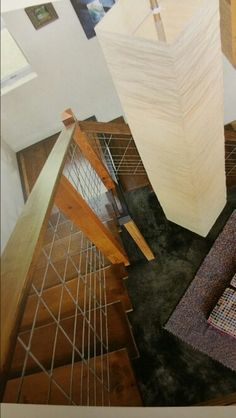 Best Timber Staircase With Hog Wire Railing Stair Railings In 400 x 300