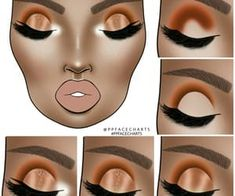 Makeup Eye Looks, Eye Makeup Steps, Eyebrow Makeup, Eyeshadow Makeup, Eye Makeup Designs, Eyeshadow Designs, Baddie Make-up, Make Up Designs, Brown Skin Makeup