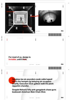 Premium template for architecture studios, designed in Sketch. Includes: 20 screens, 1 grid, a clear typographic system using Arial, easily editable nested symbols and a white/black/red color scheme. Business Presentation, Presentation Design, Template Site, Templates, Web Design Black, Graphic Design, Ui Website, Red Color Schemes, Typography Layout