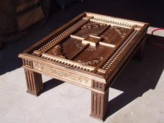 Woodworking Projects: CNC Carved Coffee Table - Furniture - Rockler.com