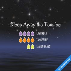 Sleep Away the Tension - Essential Oil Diffuser Blend