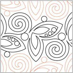 """Dewdrops In The Garden - Pantograph © 2015 Patricia E. Ritter Paper Pantograph: A single row is 9"""" wide - printed with one row – 144"""" long A single butterfly and swirl measures approximately 9.75"""" W x 9""""HAll digital designs include the following conversions: CQP, DXF, HQF, IQP, MQR, PAT, QLI, SSD, TXT, WMF and 4QB or PLT. Most designs also include a DWF, GIF and PDF. This pattern was converted by Digitech.* This design is available in digital, self-print and paper. Please select your…"""