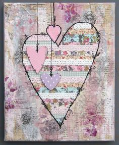 Love My Tapes....this was made using tapes..but why not use fabric and ribbons...