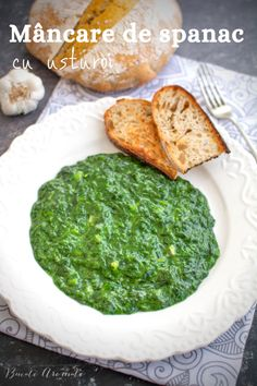 Romanian Food, Palak Paneer, Pesto, Goodies, Cooking, Ethnic Recipes, Ideas, Positive Quotes, Salads