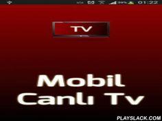 Mobil Canlı Tv  Android App - playslack.com ,  Ödüllü Android Uygulaması Mobil Canlı Tv uygulaması televizyonların canlı yayınlarını izleyebileceğiniz, günlük yayın akışını kaliteli bir arayüzde gösteren, programları size hatırlatan, şu anda hangi programların yayınlandığını gösteren, programları sevdiğiniz kategorilere ayıran bir uygulamadır.Uygulamamızda yerli-yabancı toplam 39 kanalın yayın akışına kolayca ulaşabilir, program detaylarını okuyabilirsiniz ve programın başlangıcından 1 saat…