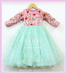 Kids Dress Wear, Kids Gown, Kids Wear, Long Frocks For Kids, Frocks For Girls, Baby Frocks Designs, Kids Frocks Design, Baby Girl Party Dresses, Little Girl Dresses