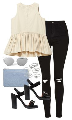 """""""Untitled #717"""" by gypsy-daydreams ❤ liked on Polyvore featuring Topshop, Miss Selfridge, Givenchy and Candie's"""
