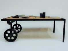 Coffee Table , Mango Wood and Cast Iron, Rustic Vintage Design, Weight: 65 kg , Measurements: L: 120 cm / W: 70 cm / H: 45 cm Delivery 1 week. Rustic Design, Industrial Design, Rustic Coffee Tables, Decoration Table, Contemporary Style, Vintage Designs, Cast Iron, Office Desk, Furniture Design
