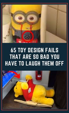 Toys bring joy to a lot of children. But sometimes we try to save a few bucks and get non-name brand toys. And the results could be hilariously disastrous. 65 #toy #design #fails #that #are #so #bad #you #have #to #laugh #them #off