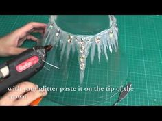 DIY : the ice crown - YouTube