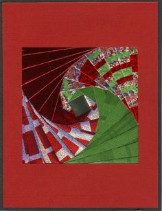 Quilts + Color: Twisted Log Cabin Christmas Card - Rerun