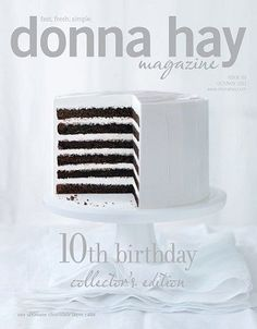 Donna Hay Magazine, Oct/Nov 2011  (recipe index)