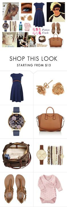 """""""Day with Louis, Harry and Asma awaiting arrival of our daughter 🍼🍼🍼"""" by louisericoul ❤ liked on Polyvore featuring Dower & Hall, Olivia Burton, Givenchy, Jessica Carlyle, Billabong, Name It and Carter's"""