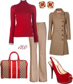 """Office Reds (Ruby)"" by amy-phelps on Polyvore"