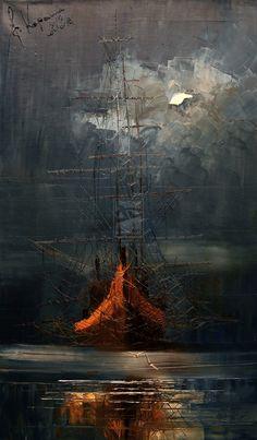 Night Fog by Justyna Kopania