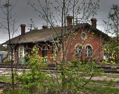 old train depot in Mt clemens, just a few blocks from my home.