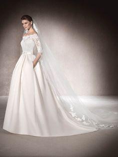 Vestido de noiva princesa Malca