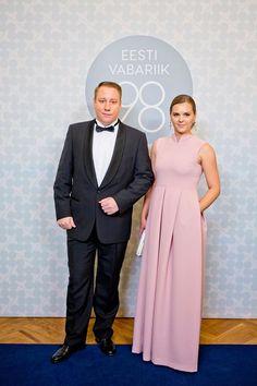 Darja Saar ja Vitaly Vesterinen Presidendi vastuvõtt 2016