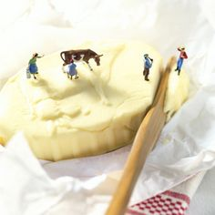 Pierre Javelle and Akiko Ida. Butter pat dairy farming