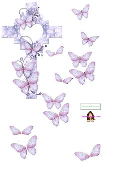 I found this gorgeous creation in a 3D decoupage sheets search on photobucket.com The search found over 200 sheets to download [go to site for full size image]. #decoupage #butterflies #cardmaking