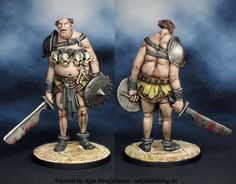 Agis Page of miniature painting and gaming - Black Plague