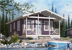 This set of Small House Plans is totally spectacular!