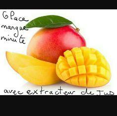 Faites votre glace minute grâce à un extracteur de jus. Congelez n'importe quel fruit frais en cube et mixez les grâce à votre extracteur de jus. C'est prêt. Délicieux! !!