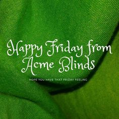 Acme Blinds added a new photo. Friday Feeling, Blinds, Feelings, Photos, Pictures, Shades Blinds, Blind, Draping, Exterior Shutters