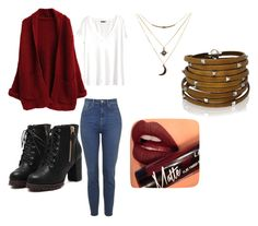 """""""Fall"""" by patrysharolle on Polyvore featuring Fiebiger, H&M, Sif Jakobs Jewellery and Charlotte Russe"""