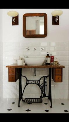 I love this idea for a bathroom