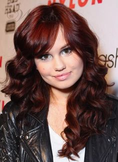 Fashonlacewigsale.com:Glamorous Debby Ryan's Hairstyle Long Curly ...