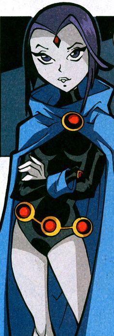 Raven. Teen Titans