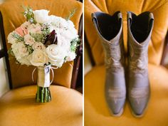 A Red Barn Wedding by Caroline Lima Photography | The Lovely Find