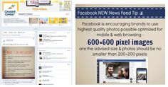 Tip: The type of post you publish on Facebook matters