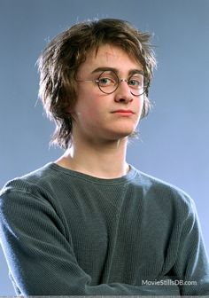 Harry Potter and the Goblet of Fire promo shot of Daniel Radcliffe