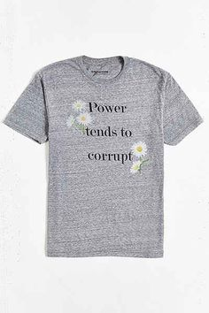 FUN Artists Power Tends to Corrupt Tee