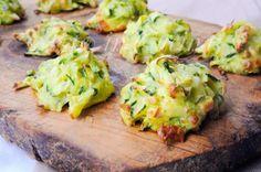 Frittelle al forno con zucchine e patate veloci
