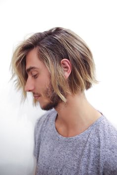 """Men's Haircuts You HAVE To See #refinery29 http://www.refinery29.com/guy-haircuts#slide-7 Stylist/Barber: Buddy PorterFind Him At: Ramirez Tran, Los AngelesWhat To Ask For: A soft undercut with blended, long layers""""This is a transitional haircut,"""" Porter tells us. ..."""