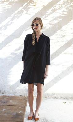 Sicilian shirt dress - Plümo Ltd