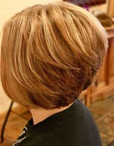 short layered bob hairstyles for thin hair